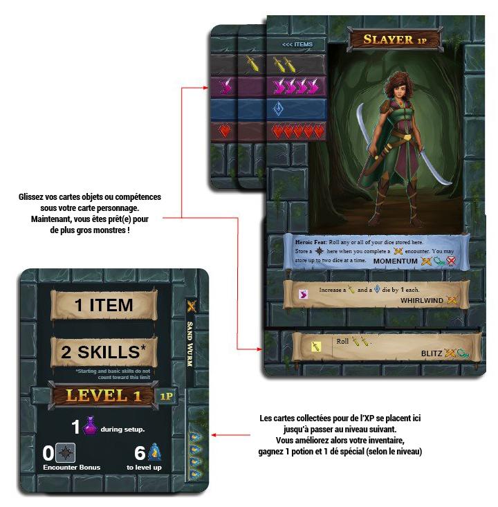 one-deck-dungeon-foret-des-ombres-Héroine