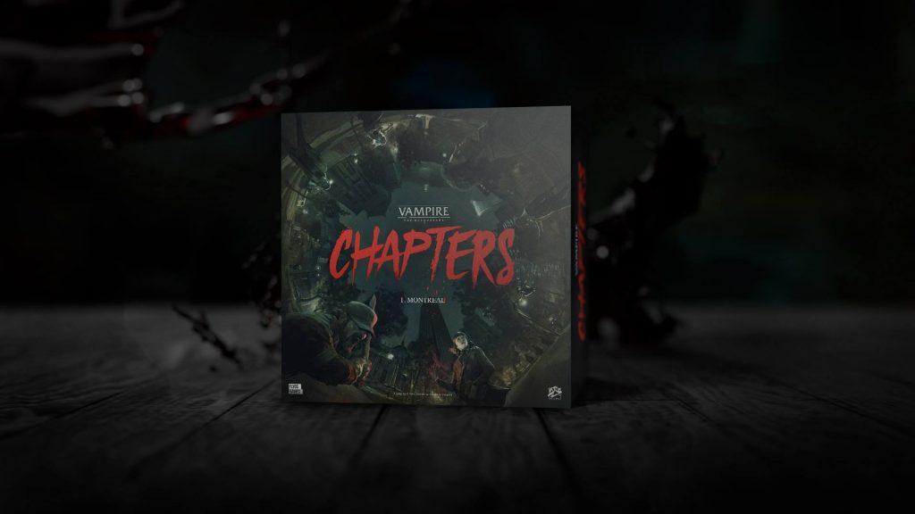 Vampire the Masquerade - CHAPTERS - boite
