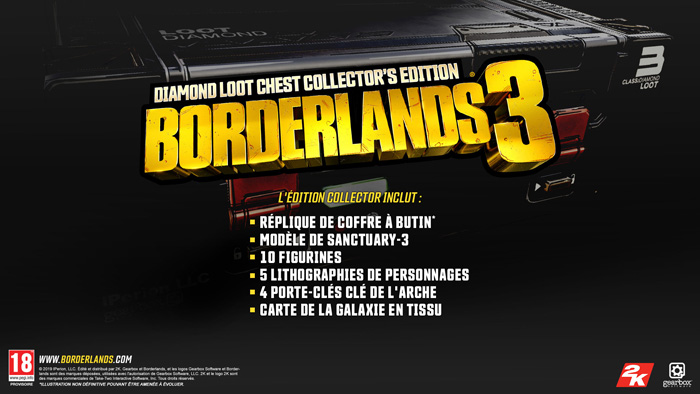 borderlands 3 edition collector