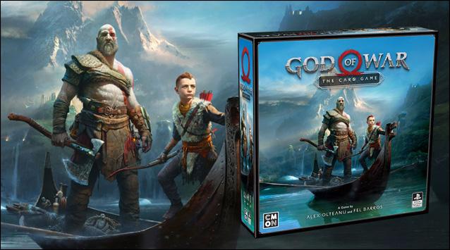 God of war le jeu de cartes