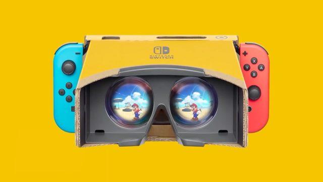lunettes VR nintendo