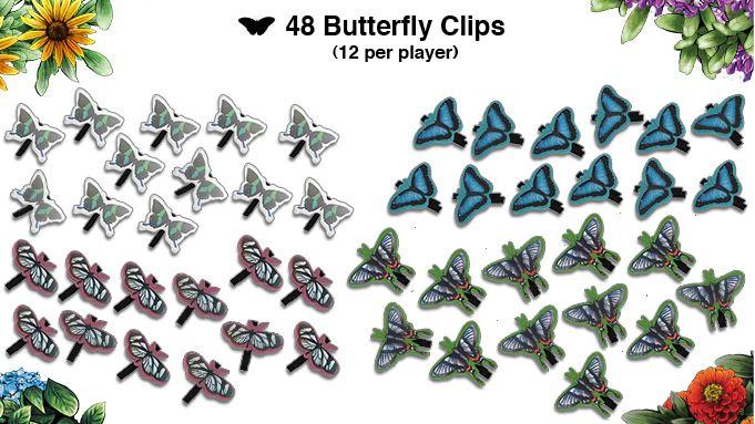 papillon à clip