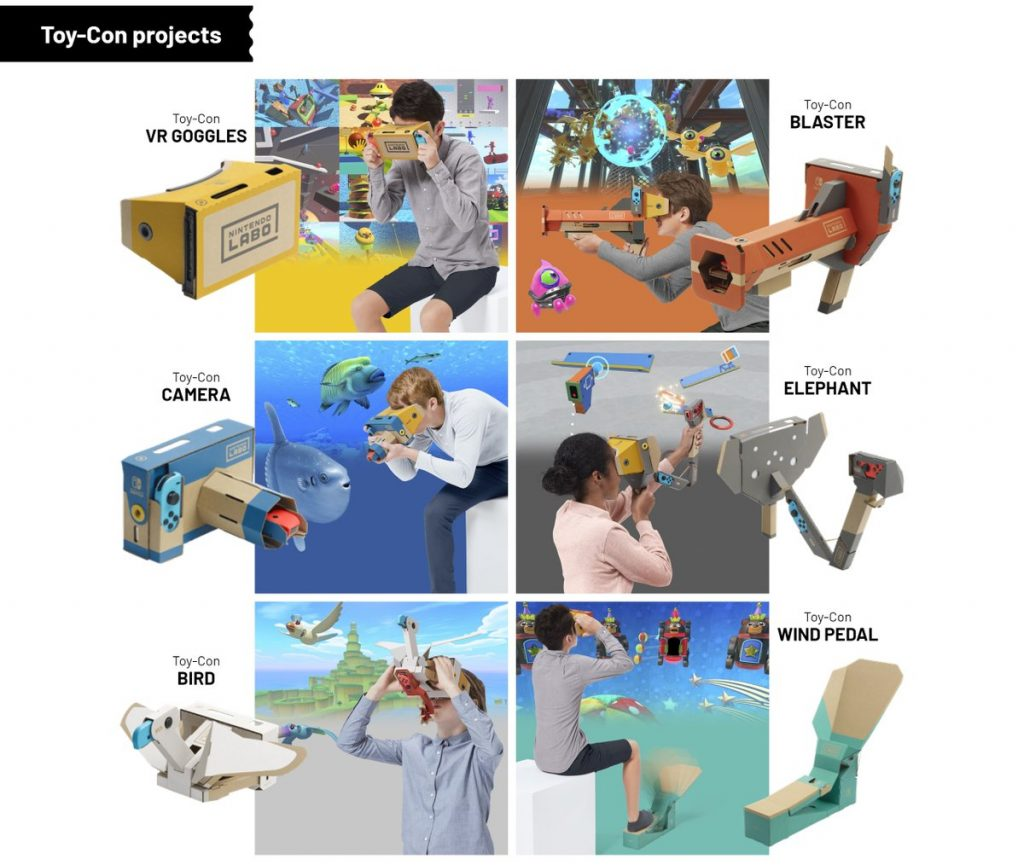 toy con VR création