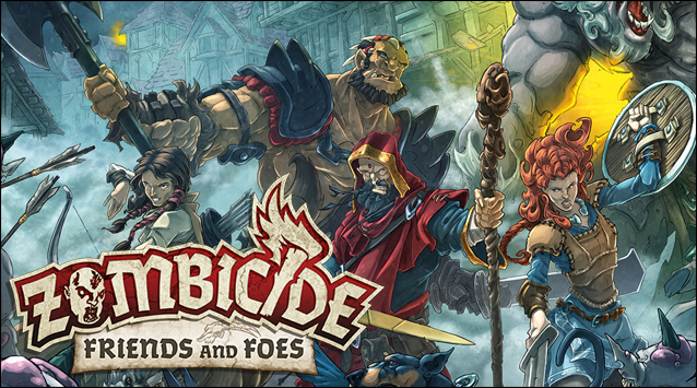 Zombicide Green Horde Friends and Foes
