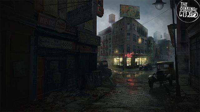 sinking city ambiance