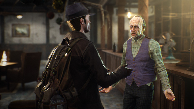 sinking city personnage