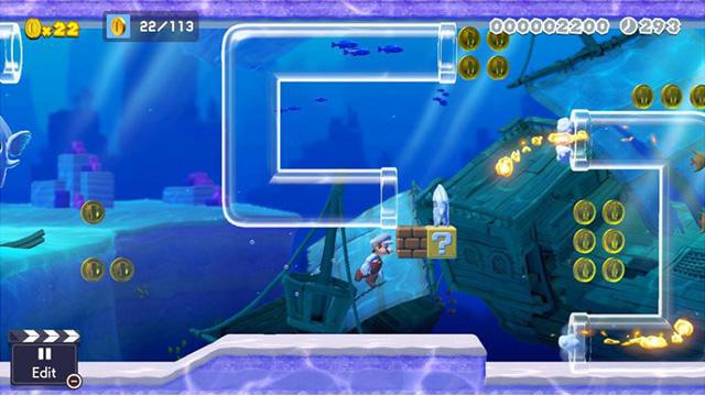 super-mario-maker-2-niveau-plongée