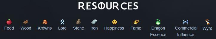 northgard ressources