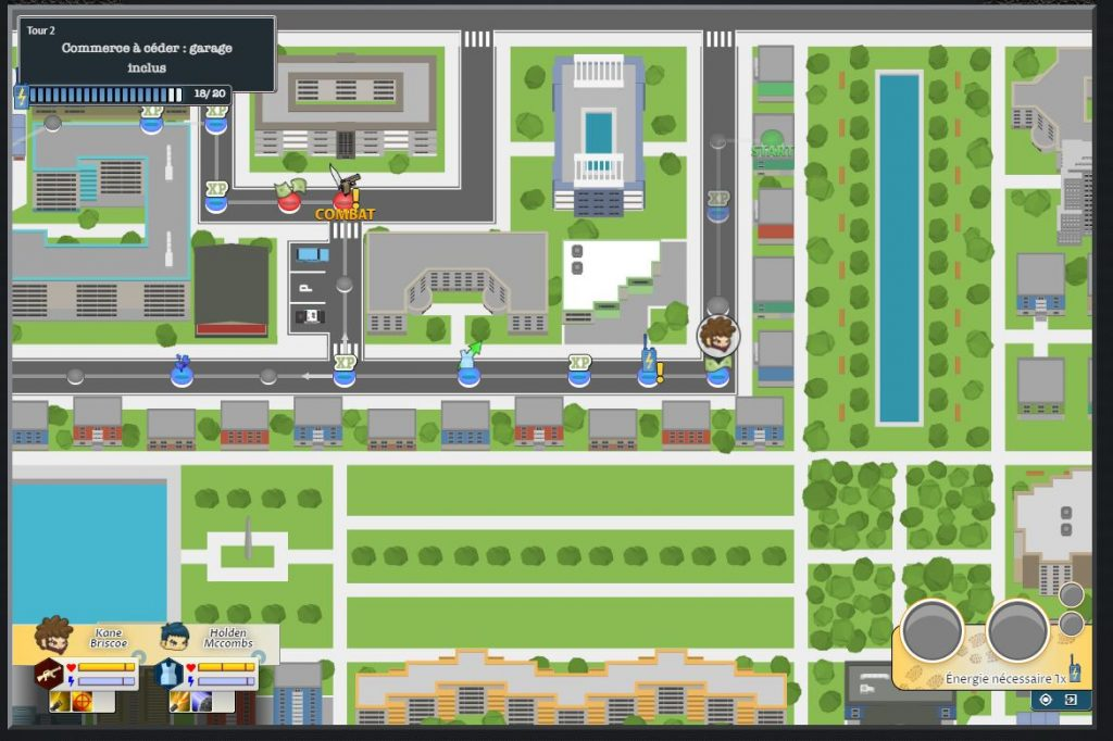 bloody rules évolution map