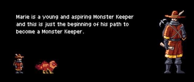monster sanctuary début del'histoire