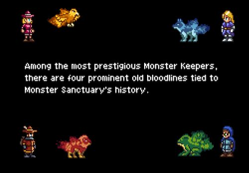 monster sanctuary familiers starters