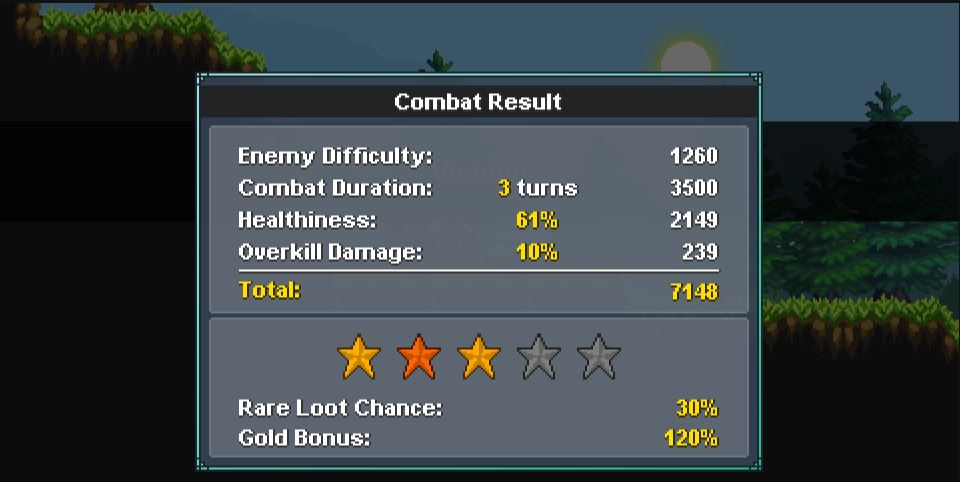 monster sanctuary score combat