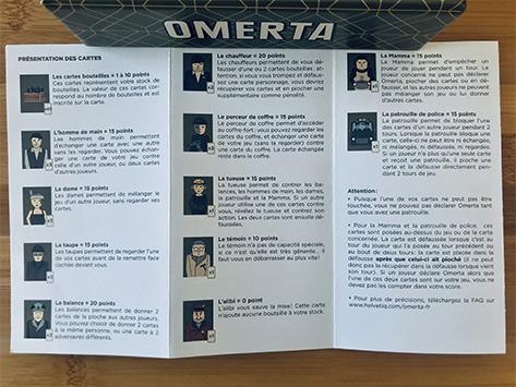 omerta-règles