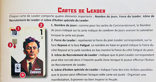 Explication des Cartes Leader