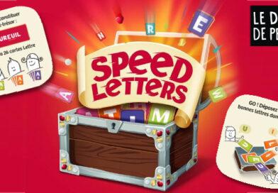 Speed Letters : le jeu de mots qui valent de l'or !